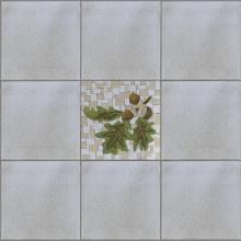 mosaico ghiande