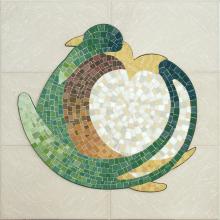 mosaico intitolato abbraccio